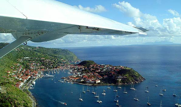 Aerial View of St Barts / St Barths